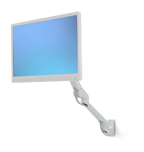 """Ergotron 45-437-216 soporte de pared para pantalla plana 61 cm (24"""") Plata"""
