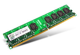 Transcend JetRam JM800QLU-2G memory module 2 GB DDR2 800 MHz