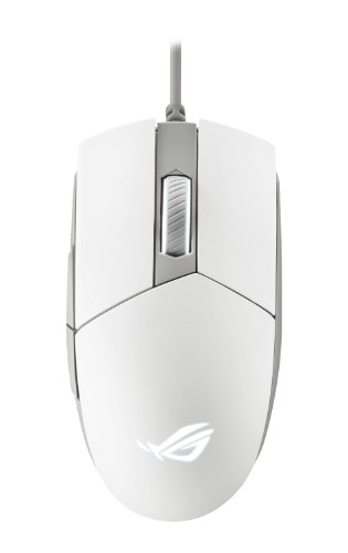 ASUS ROG Strix Impact II Moonlight White mouse Ambidextrous USB Type-A Optical 6200 DPI
