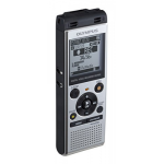 Olympus WS-852 dictaphone Internal memory & flash card Silver