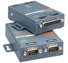 Lantronix EDS1100 serial server RS-232/422/485