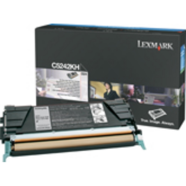 Lexmark C524H3KG Toner black, 8K pages @ 5% coverage