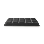 Nedis ERGOGSS100BK office/computer chair part Seat pad Black Fabric, Foam