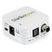 StarTech.com Two Way Digital Coax to Toslink Optical Audio Converter Repeater