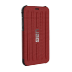 "Urban Armor Gear Metropolis mobile phone case 14.7 cm (5.8"") Cover Black,Red"