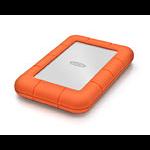 LaCie Rugged Mini 500GB 500GB Orange,Silver external hard drive