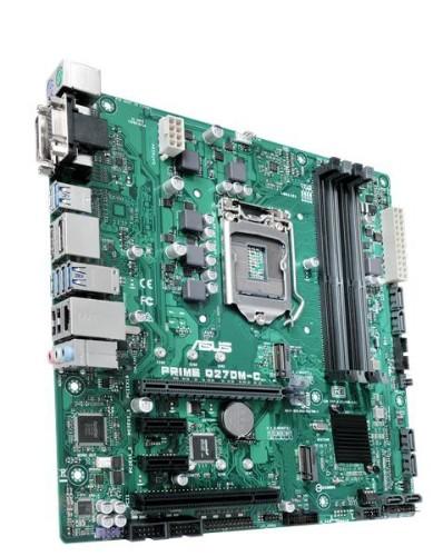 ASUS PRIME Q270M-C motherboard LGA 1151 (Socket H4) Micro ATX Intel® Q270
