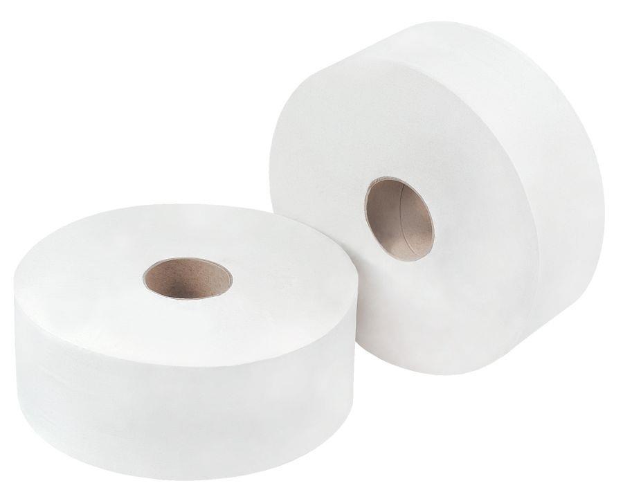OMG White Jumbo Toilet Rll 300m (Pack 6) DD