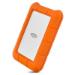 LaCie Rugged USB-C disco duro externo 1000 GB Naranja, Plata