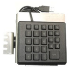 Datalogic 94ACC0158 numeric keypad USB PC/server Black,Silver