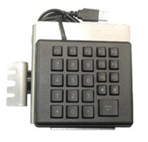 Datalogic 94ACC0158 numeric keypad USB PC/server Black,Silver