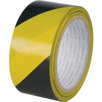 Q-Connect Hazard Tape 48mmx20M Yel/Blk