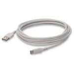 "AddOn Networks USBC2USB2MW USB cable 78.7"" (2 m) USB 2.0 USB A USB C White"