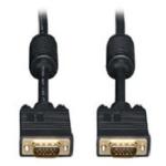 Ergotron SVGA/VGA Monitor Cable VGA cable 3 m VGA (D-Sub) Black 97-748