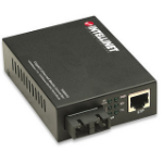 Intellinet 506533 network media converter 1000 Mbit/s 850 nm Multi-mode Black