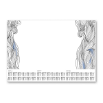Sigel HO480 desk pad Paper White