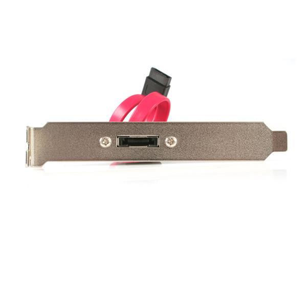 StarTech.com 1 Port SATA to eSATA Slot Plate Bracket