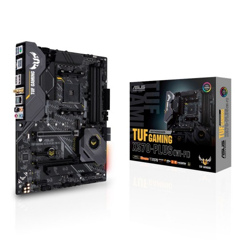 ASUS TUF Gaming X570-Plus (WI-FI) motherboard Socket AM4 ATX AMD X570