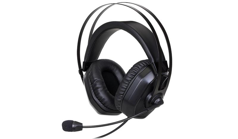 Cooler Master MasterPulse MH320 Binaural Head-band Black headset