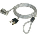 Port Designs Security CABLE KEY 1.8m Stainless steel cable lock