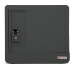 Bretford Cube Micro Station Portable device management cabinet Charcoal