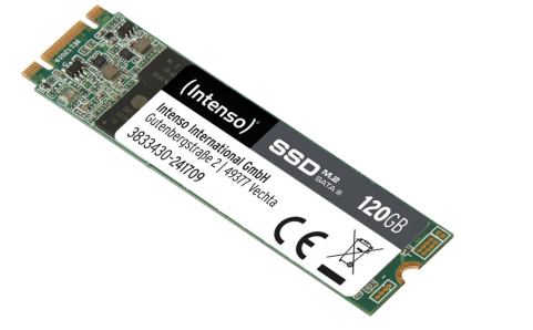 Intenso 3833430 120GB M.2 Serial ATA III internal solid state drive