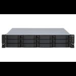 """QNAP TL-R1200S-RP HDD/SSD enclosure Black, Grey 2.5/3.5"""""""