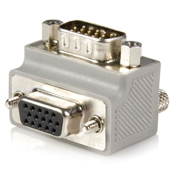 StarTech.com VGA Cable adapter DB15 M DB15 FM Gris
