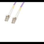 Microconnect FIB440401P fibre optic cable 1 m LC/PC Purple