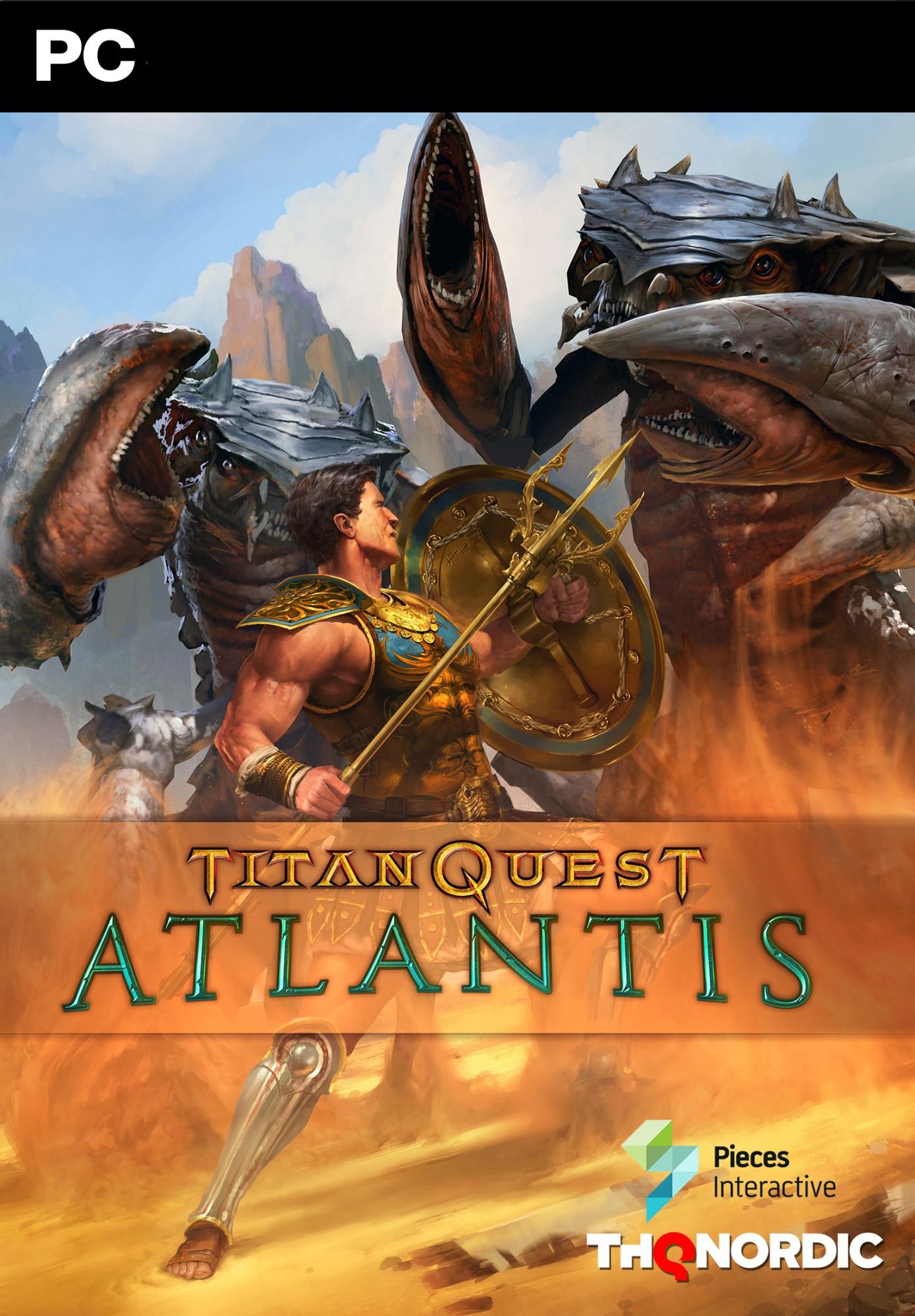 Nexway Titan Quest: Atlantis Video game downloadable content (DLC) PC Español