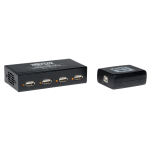 Tripp Lite B203-104 interface hub 480 Mbit/s Black