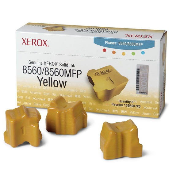 Solid Ink Yellow 3-sticks (108r00725)