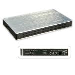 "Lindy 42671 storage drive enclosure 2.5"" Black,Silver"