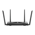 D-Link EXO AC2600 MU-MIMO Dual-band (2.4 GHz / 5 GHz) Gigabit Ethernet Black wireless router