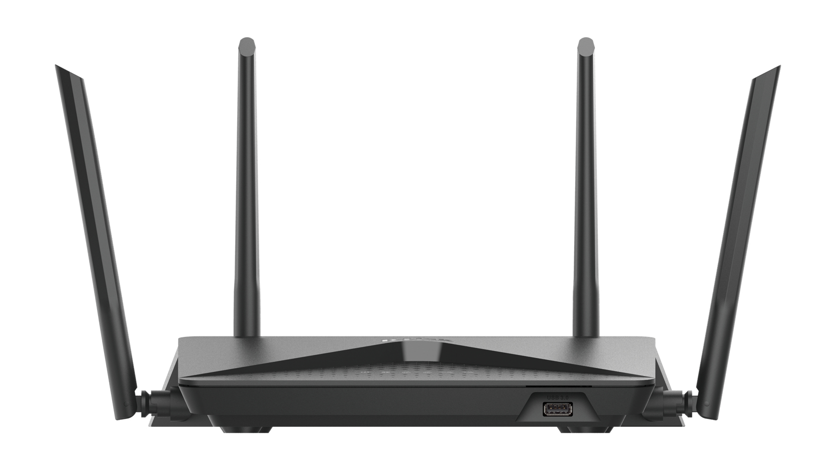 D-Link EXO AC2600 MU-MIMO wireless router Dual-band (2.4 GHz / 5 GHz) Gigabit Ethernet Black