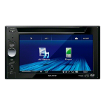 Sony XAV-64BT car media receiver