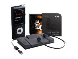 Olympus DS-2600 Internal memory & flash card Black