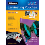 Fellowes Glossy Pouches A3 25 pcs. 80mµ laminator pouch