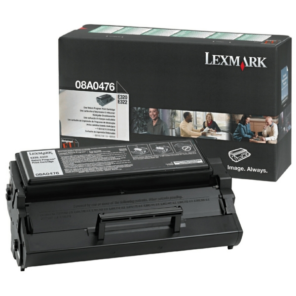 Lexmark 8A0476 Toner black, 3K pages @ 5% coverage