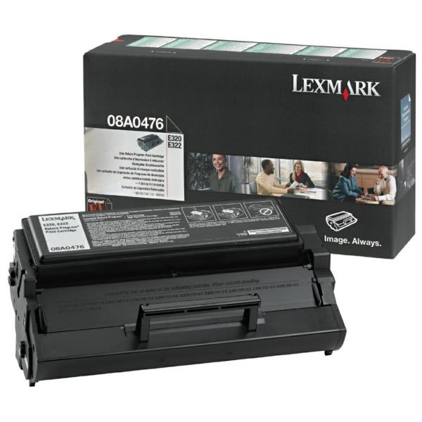 Lexmark 8A0476 Toner black, 3K pages @ 5% coverage