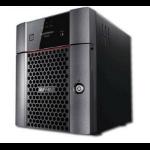 Buffalo TeraStation TS3420DN0802 NAS/storage server Rack (1U) Ethernet LAN Black AL214