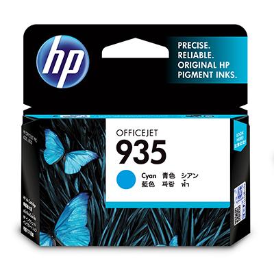 HP 935 Cyan Original Ink Cartridge Cian 1 pieza(s)