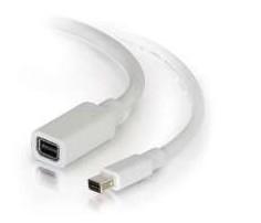 C2G 2.0m Mini DisplayPort M/F 2 m White