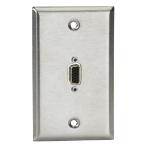 Black Box WPVGA02-R2 socket-outlet VGA Stainless steel