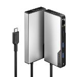 ALOGIC UCFUPRGV-SGR interface hub USB 3.2 Gen 1 (3.1 Gen 1) Type-C 5000 Mbit/s Silver