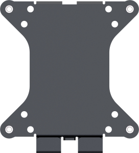 "Vision VFM-W1X1 28"" Black flat panel wall mount"
