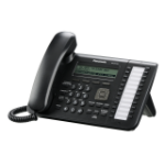 Panasonic KX-UT133 Wired handset LCD Black