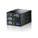 Aten VE170Q AV transmitter & receiver Black AV extender