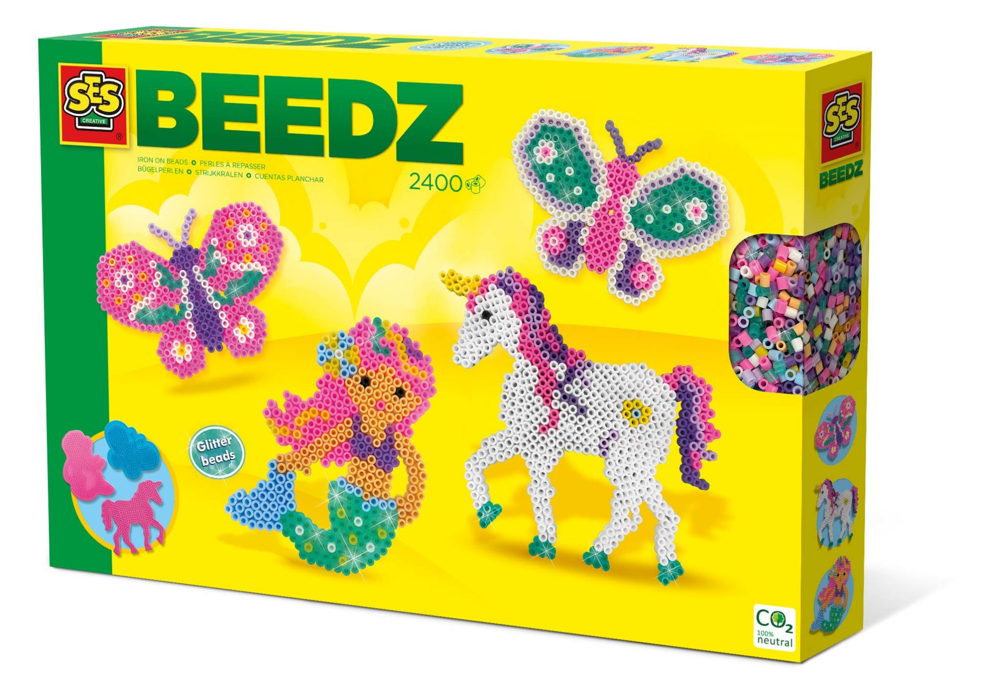 SES Creative Beedz Iron on beads - Fantasy world