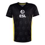ESL Victory E-Sports Jersey, Male, Large, Black/Yellow (TS331034ESL-L)